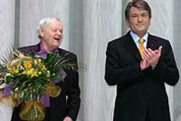 The President of Ukraine congratulates Boris Oliynyk the famous Ukrainian poet