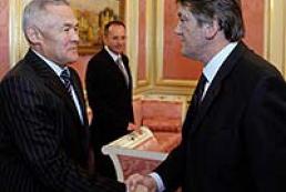 President of Ukraine met Kazakh Ambassador