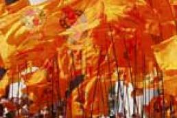 Ukraine launches celebrity of Orange Revolution