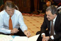 The meeting of Victor Yushchenko and Ukraine's Coal Minister