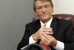 Yushchenko ignores international organizations