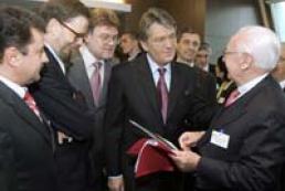 Victor Yushchenko took part in energy forum