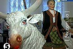 Timoshenko appeared in a doll composition