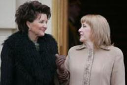 First Lady of Ukraine met Jolanta Kwasniewska