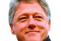 Victor Yushchenko met with former U.S. President Bill Clinton