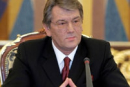Yushchenko: We count on support of OSCE and CEA
