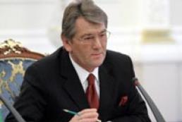 Yushchenko to control gas transit issue personally
