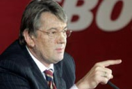 Yushchenko warns officials not to abuse power