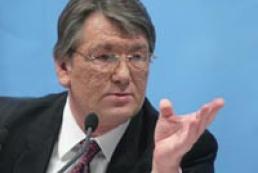 Yushchenko comments on Ukrainian-Russian gas negotiations