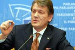 President Yushchenko visits Kherson region