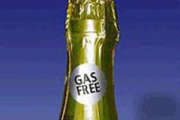 Ukrainian champagne - gas free