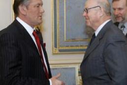 President Yushchenko met with Hans Blix