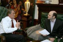 Interview with Ukraine's President Victor Yushchenko