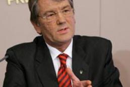 Yushchenko to take measures for solving crisis