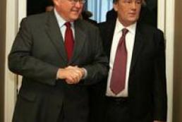 President Yushchenko met with Swedish PM