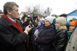 The President of Ukraine goes to Alchevsk