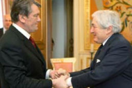 President of Ukraine met with James Wolfensohn