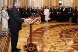 The President of Ukraine met foreign diplomats
