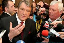 The weekly radio address of Ukraine President Yushchenko