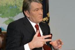 President meets Ukraine's top officials
