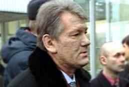 President Yushchenko visits Mechnykov Hospital in Dnipropetrovsk