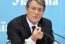 Yushchenko to defend the Ukrainian language in Crimea?