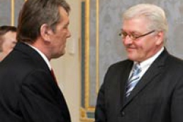 Ukraine President and Germany PM held meeting