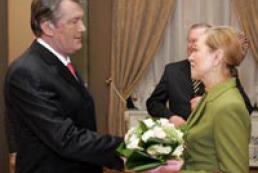 Yushchenko met with Benita Ferrero-Waldner