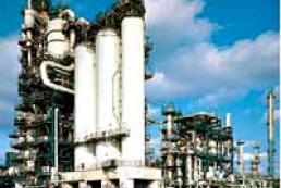 Kherson Oil Refinery plant is under repair
