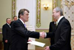 President of Ukraine accepted credentials