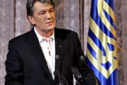 The President Yushchenko criticized poor political culture of opposition