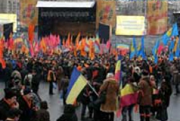 Parties-losers hold protest action
