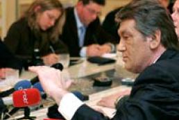 President Yushchenko visits Zakarpatye