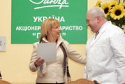 First Lady of Ukraine helps asthma patients