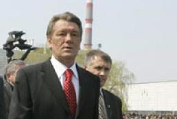 President of Ukraine on the Shelter construction