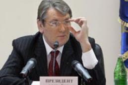 Yushchenko meets Latvian businessmen