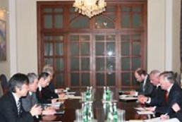 Ukraine's Foreign Minister met the Japanese delegation