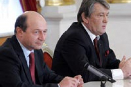 Yushchenko met with Romania Persident Traian Basescu