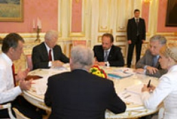 President of Ukraine met coalition negotiators