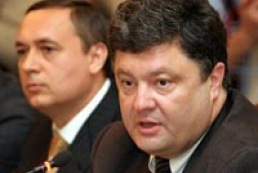 Petro Poroshenko answers the journalists' questions