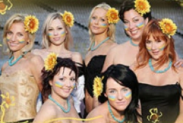 Beautiful significant others of Ukraine football team-2006