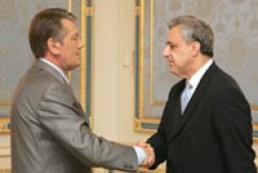 Yushchenko met Armenian Foreign Minister