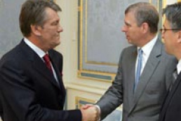 President meets Prince Andrew