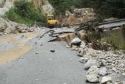 Heavy rain cause caused another dam break in Crimea