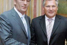 Ukraine's President met Alexander Kwasniewski