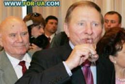 Kuchma celebrates his birthday today