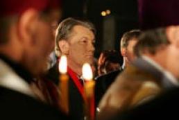 Ukraine's President honors famine victims