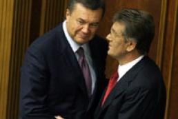 Ukraine's President met Premier Yanukovych