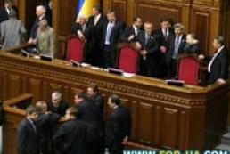 Ukraine Verkohvna Rada's agenda for current week