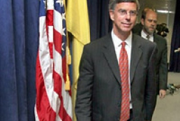 Ukraine's President and US Ambassador Taylor held a meeting